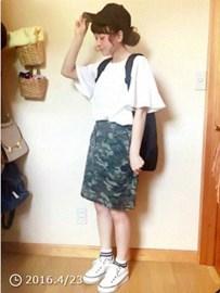 ボーイッシュなスカート